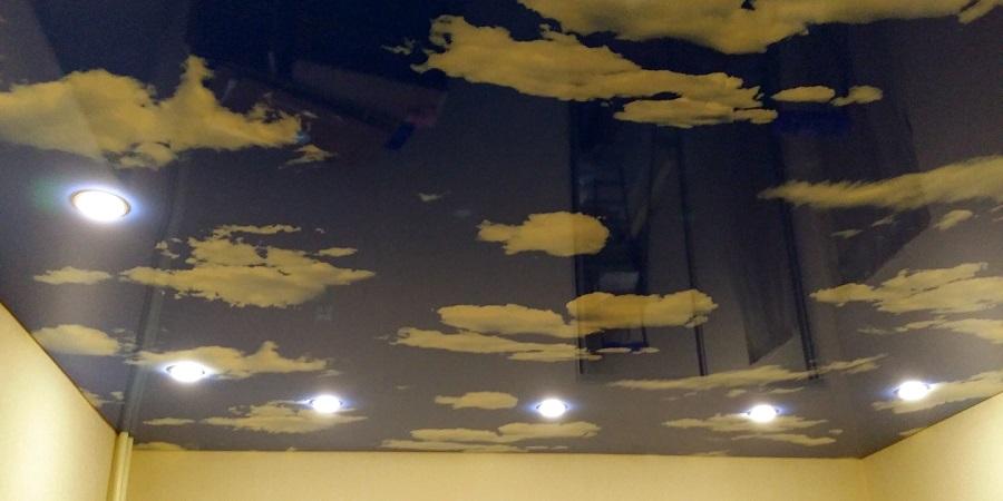 Облака под потолком своими руками 70