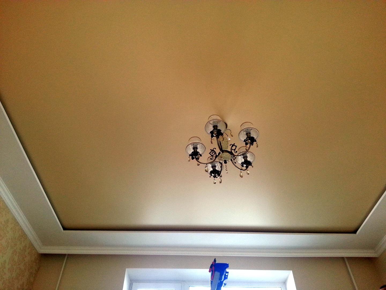 Как сделать подвесной потолок с нишей